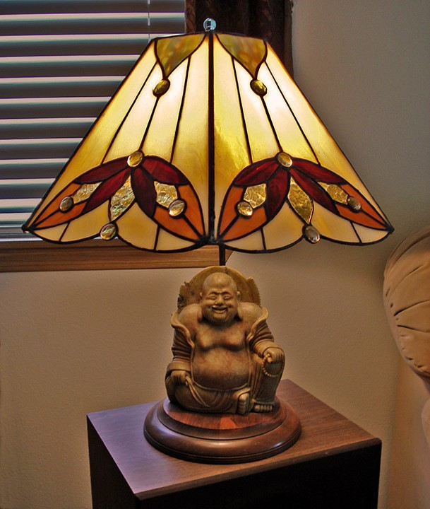Stained Glass Lampshades