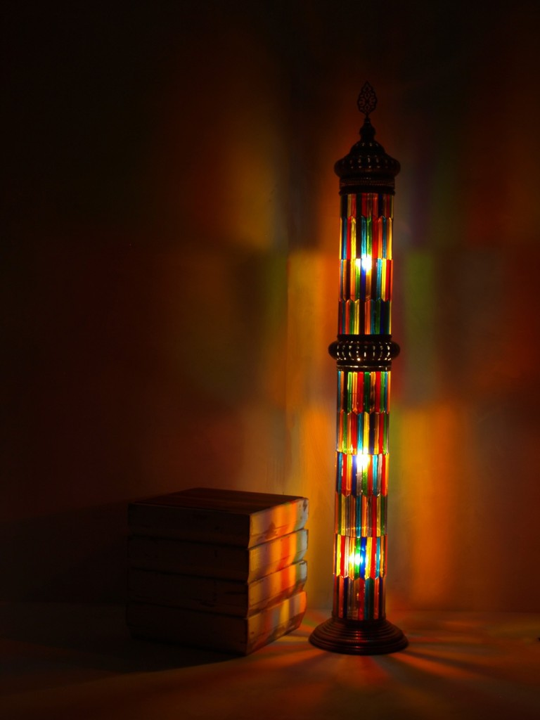 Stained Glass Reading Floor Lamps