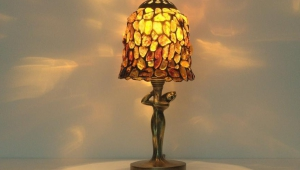 Tiffany Table Lamps Autumn Rose