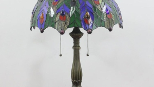 Tiffany Table Lamps With Peacocks