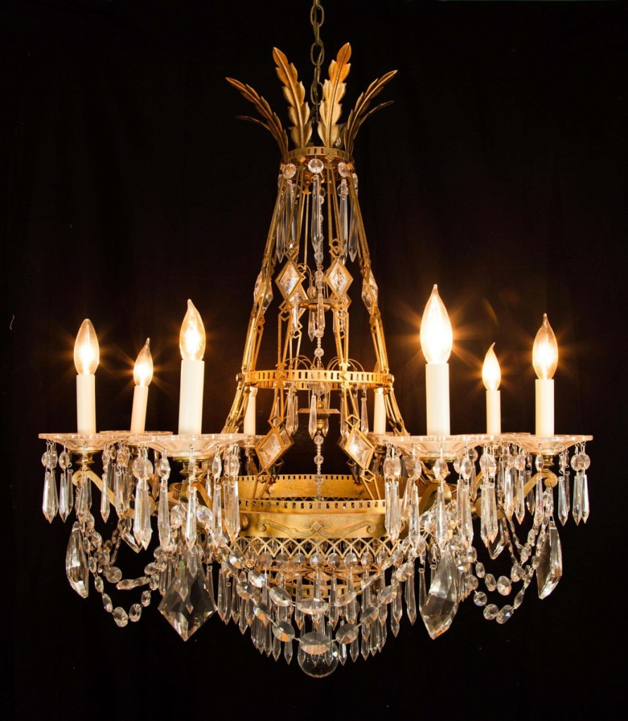 Victorian Style Crystal Chandeliers