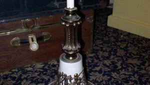 Vintage Floor Lamps Marble