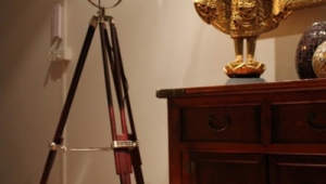 Vintage Floor Lamps With Light In Base