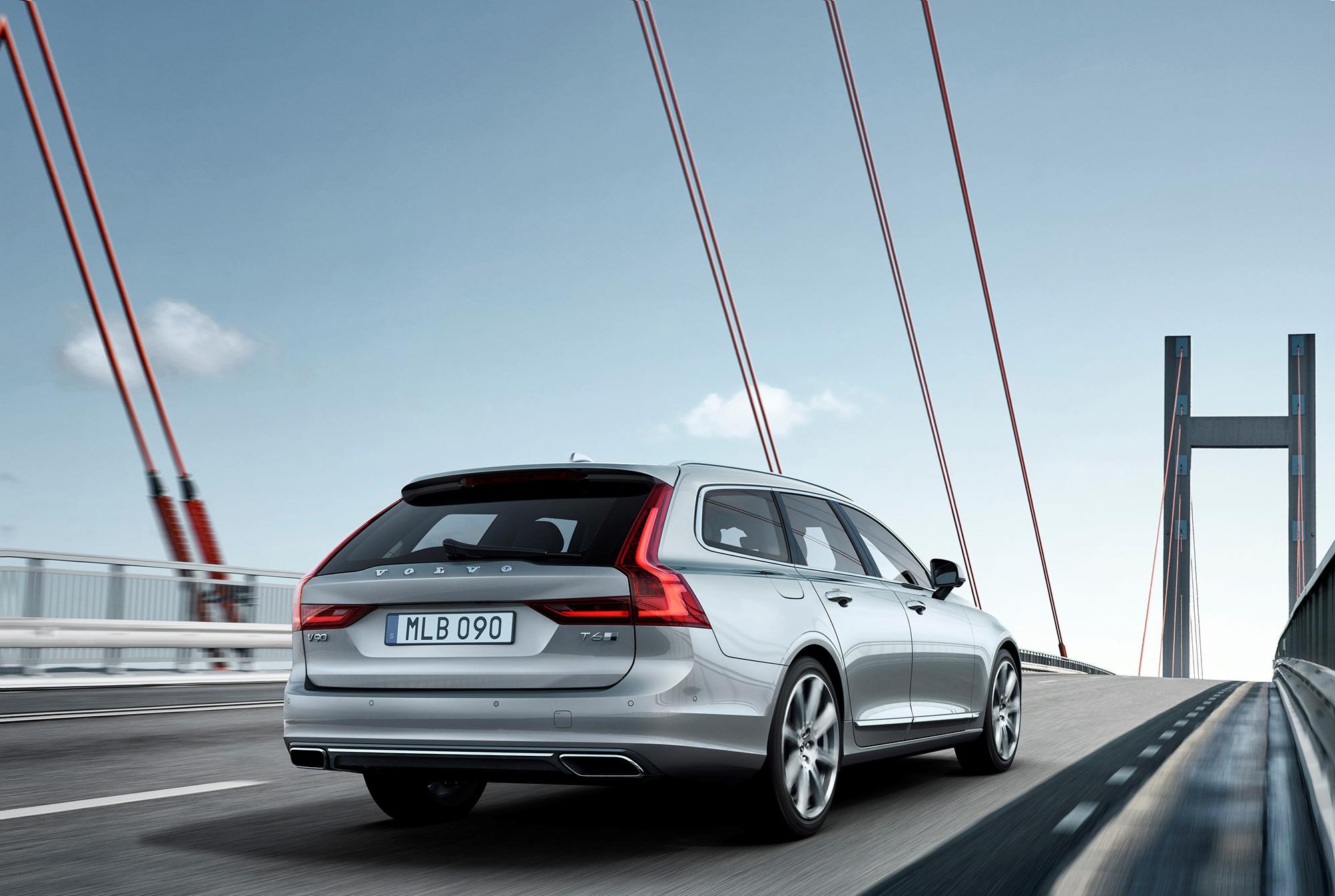 Volvo V90 HD Background