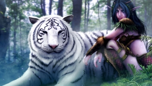 White Tiger Art