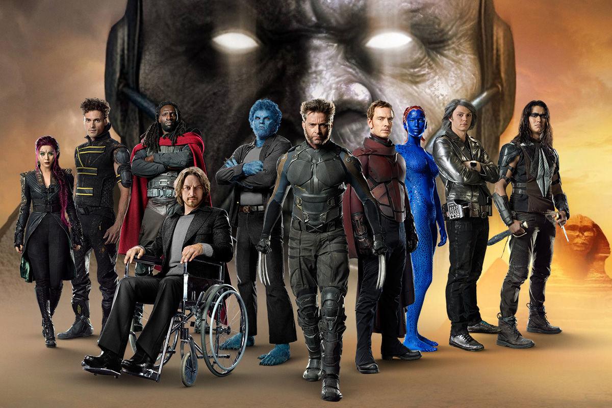X Men Apocalypse Movie Scale
