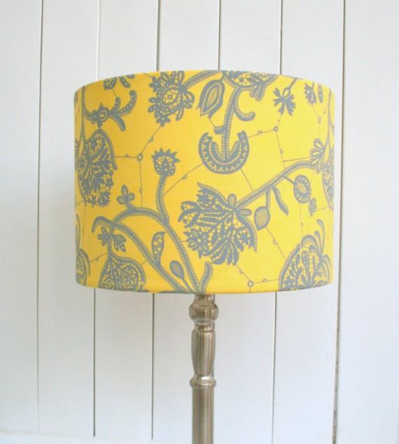 Yellow Lampshades