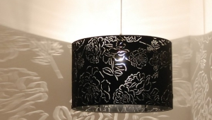 Black And White Lampshades