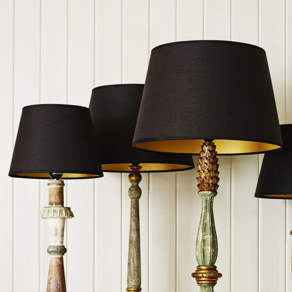Black Lampshades