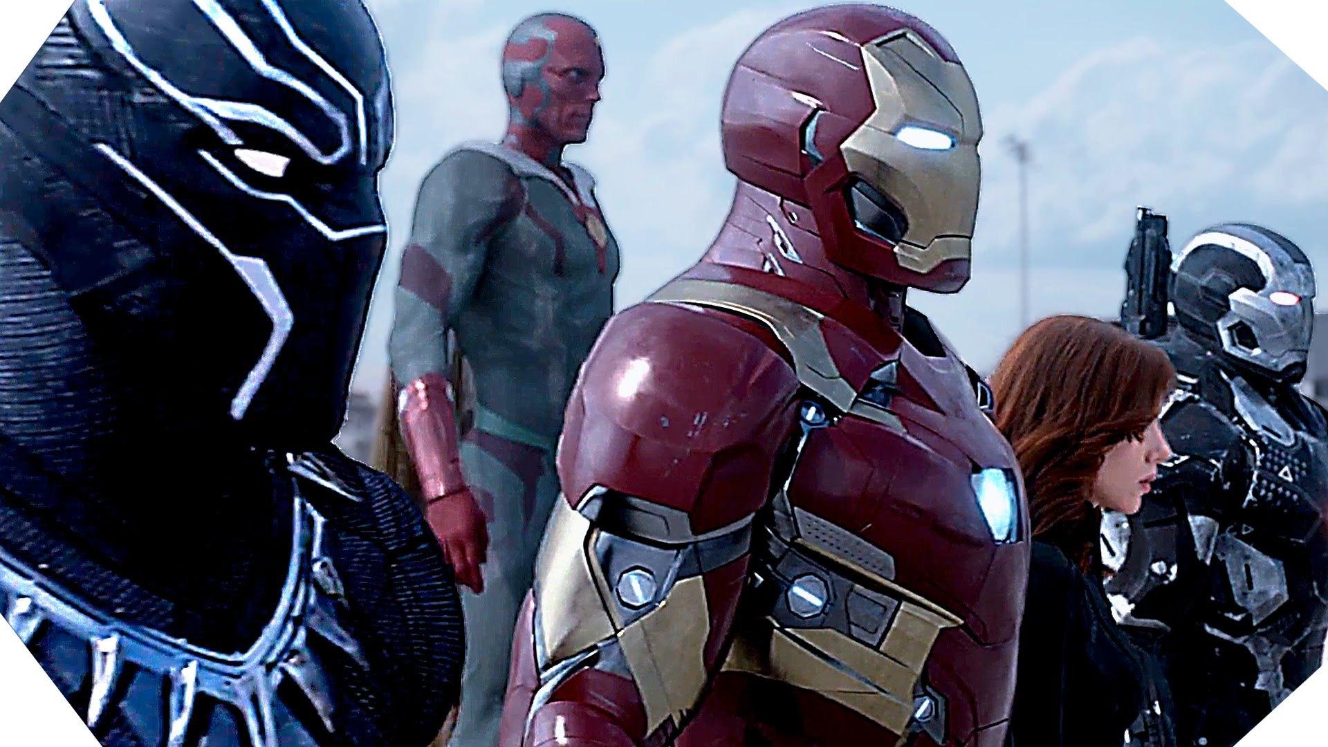 Captain America Civil War Bande