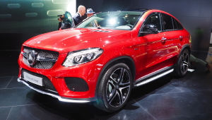 Funny Mercedes Benz GLE Coupe Pictures