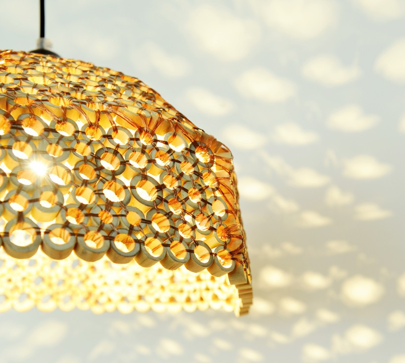Gold Lampshades
