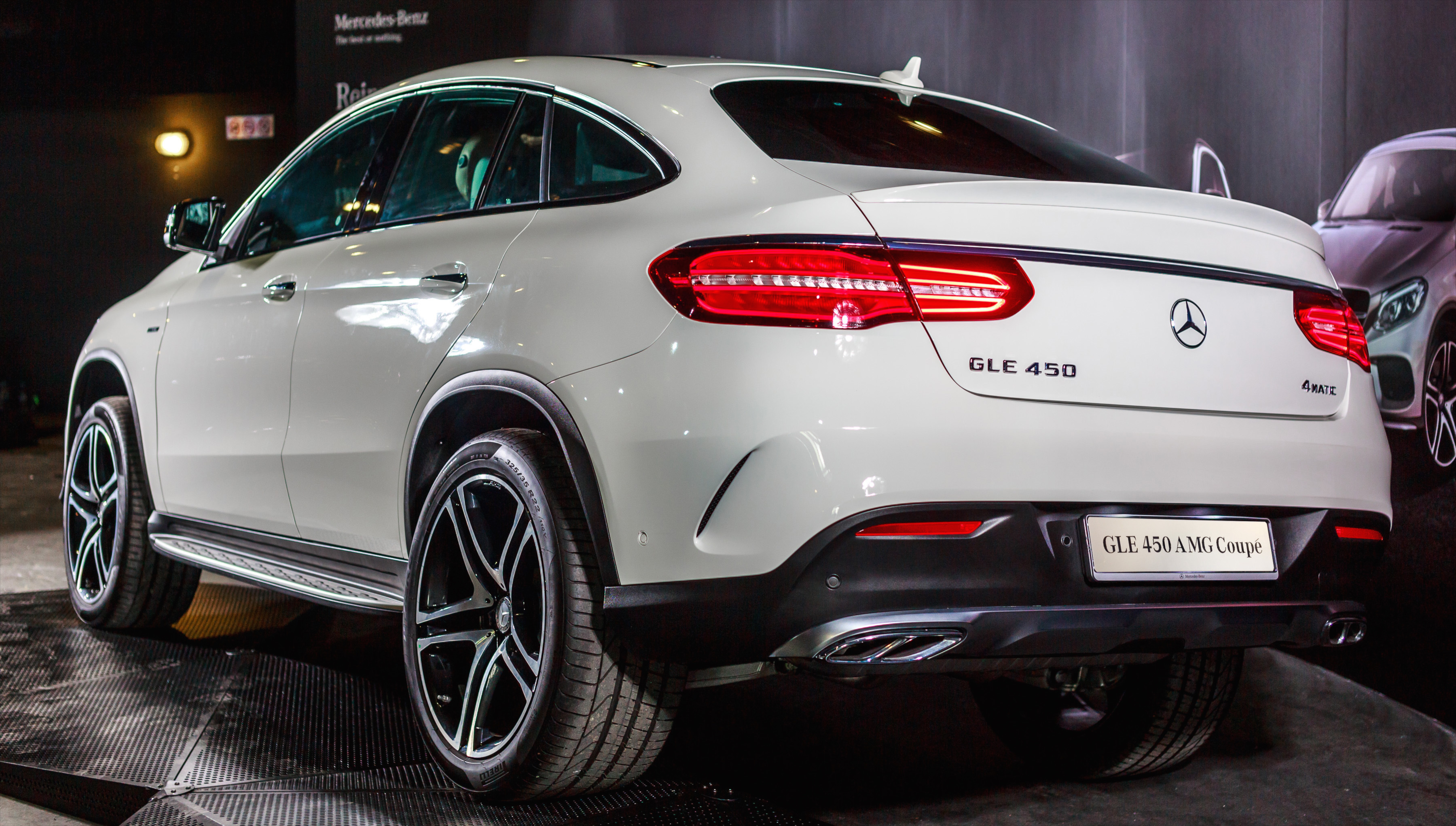 Images Of A Mercedes Benz GLE Coupe