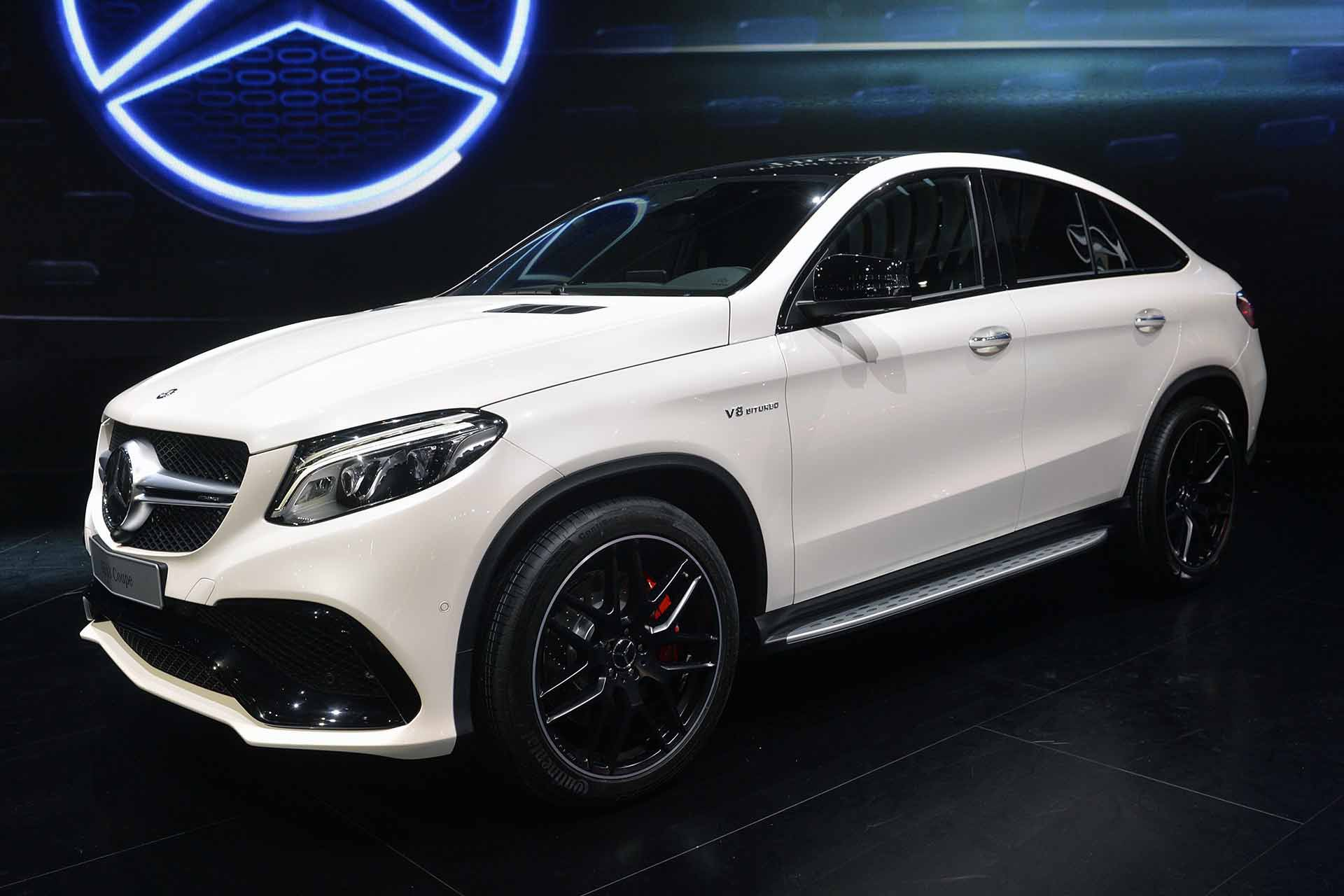 Pictures Of A Mercedes Benz GLE Coupe