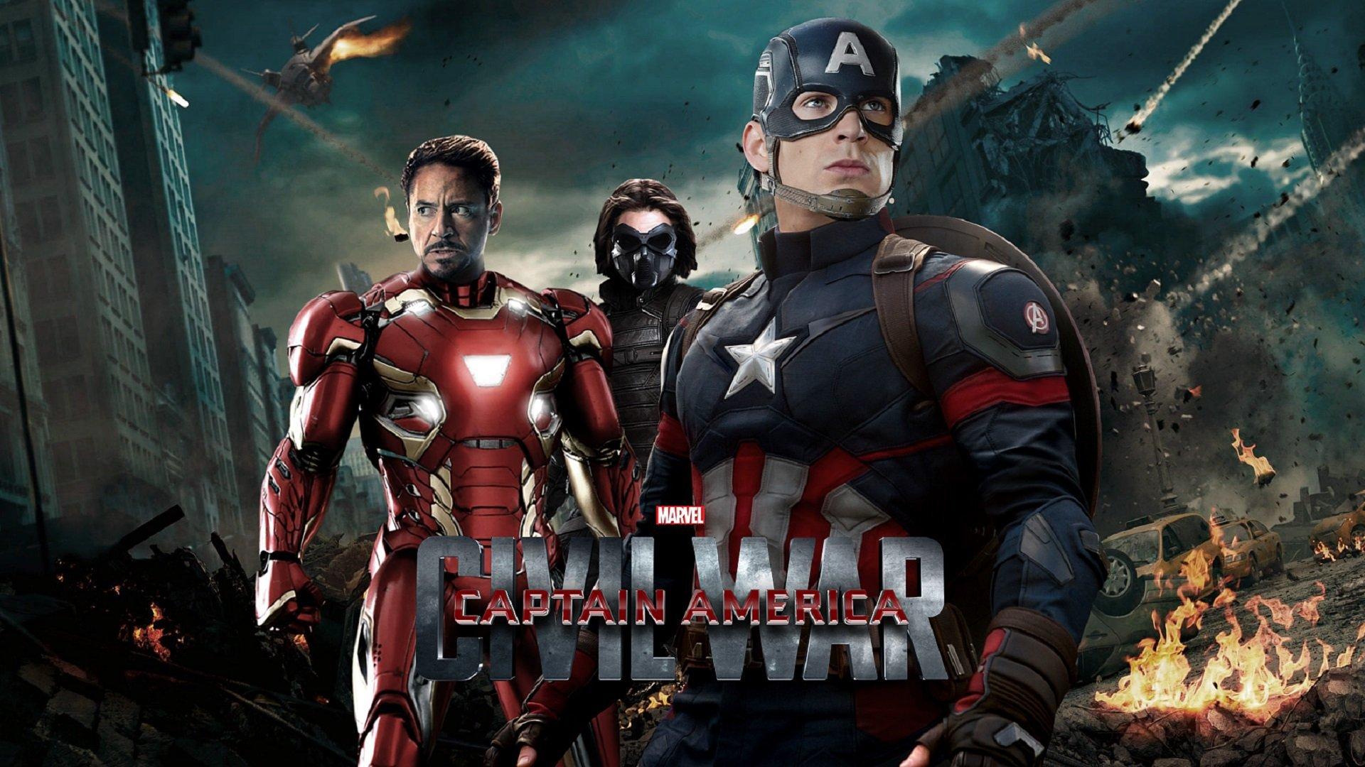 Poster Captain America Civil War
