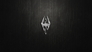 Skyrim Logo Hd Wallpapers