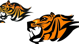 Tiger Illustrator Designs