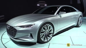 Audi A9 2016 Concept HD Background