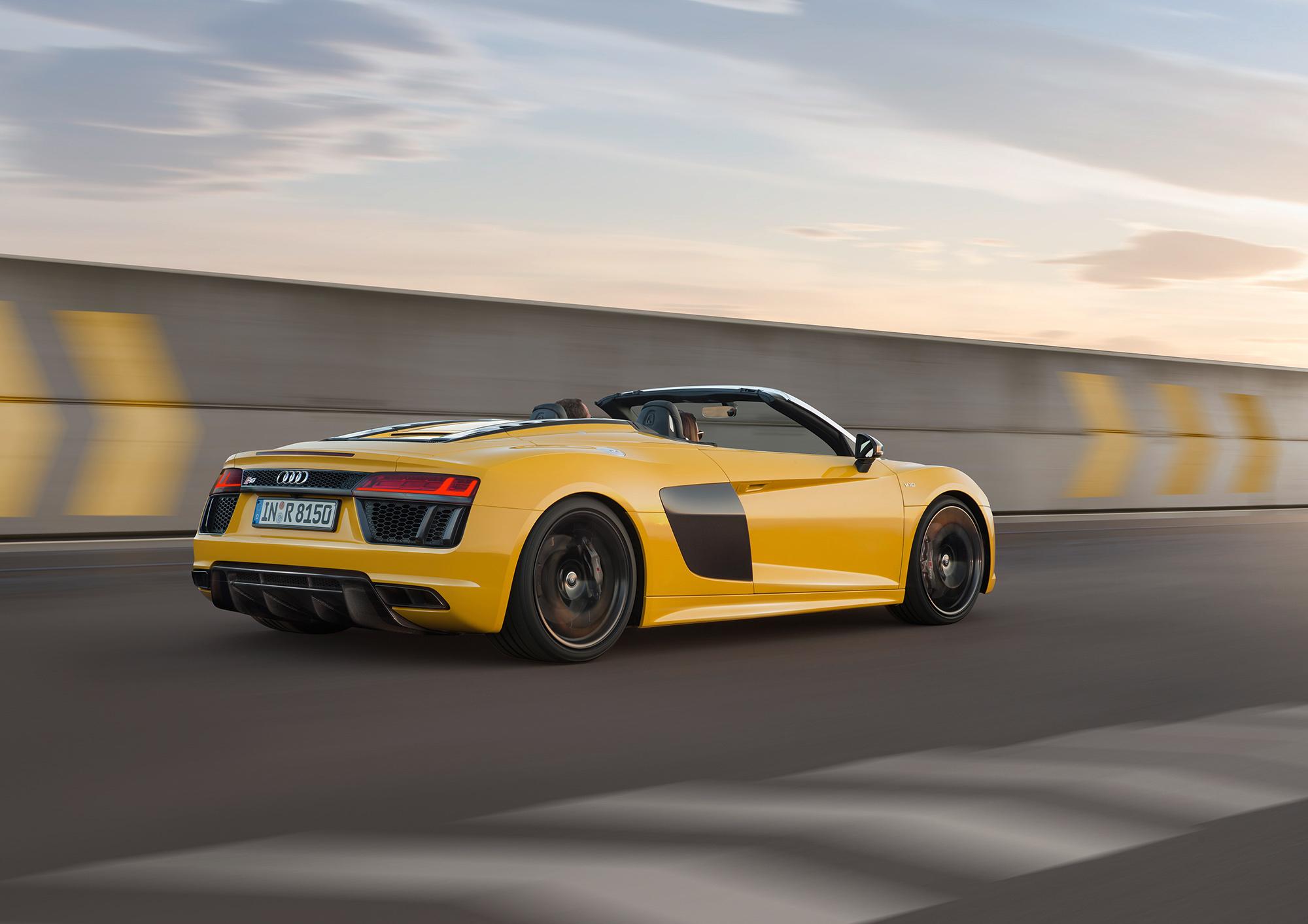 Audi R8 Spyder HD Desktop