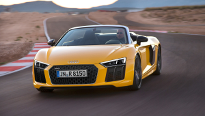Audi R8 Spyder High Definition Wallpapers