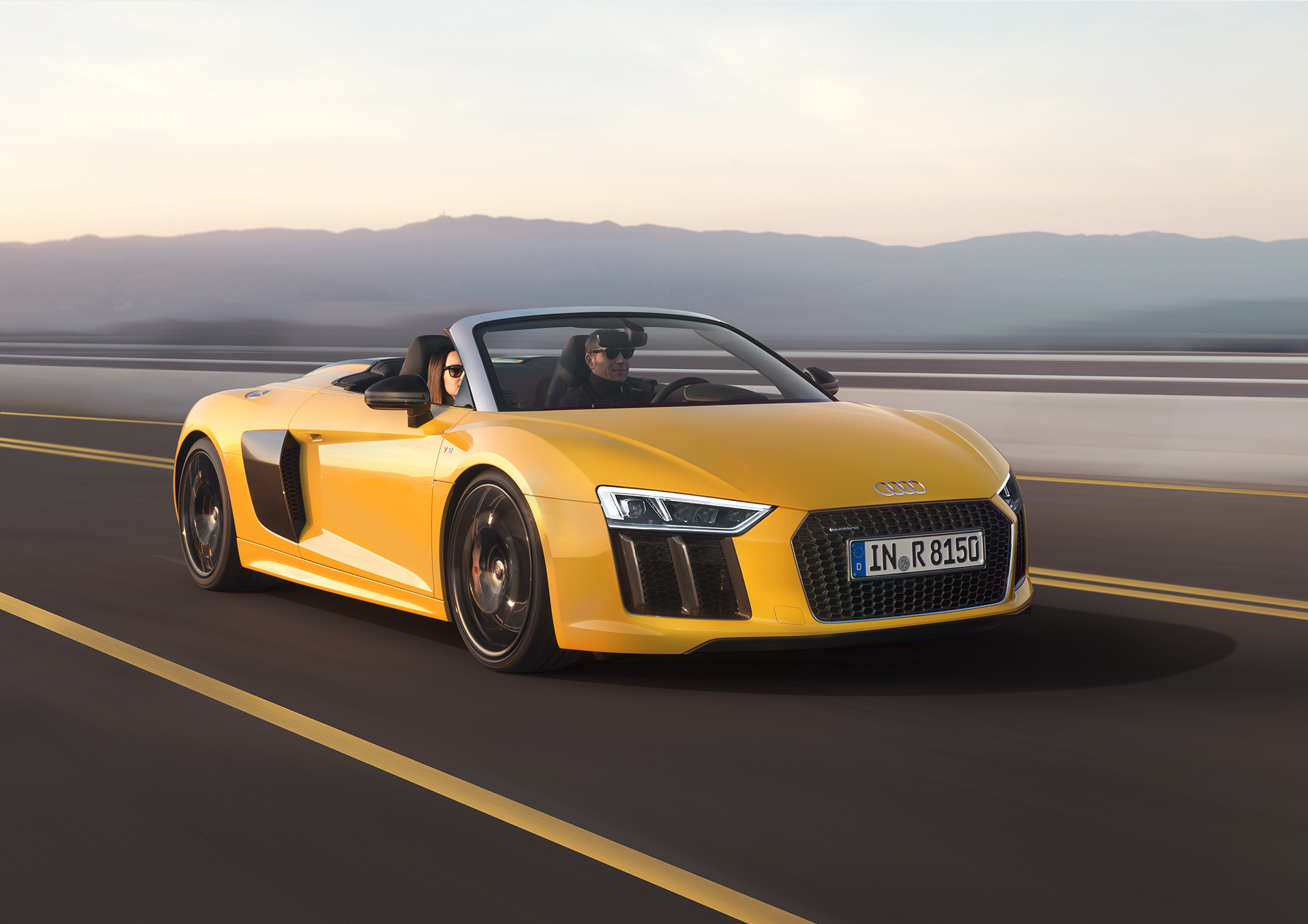 Audi R8 Spyder High Quality Wallpapers