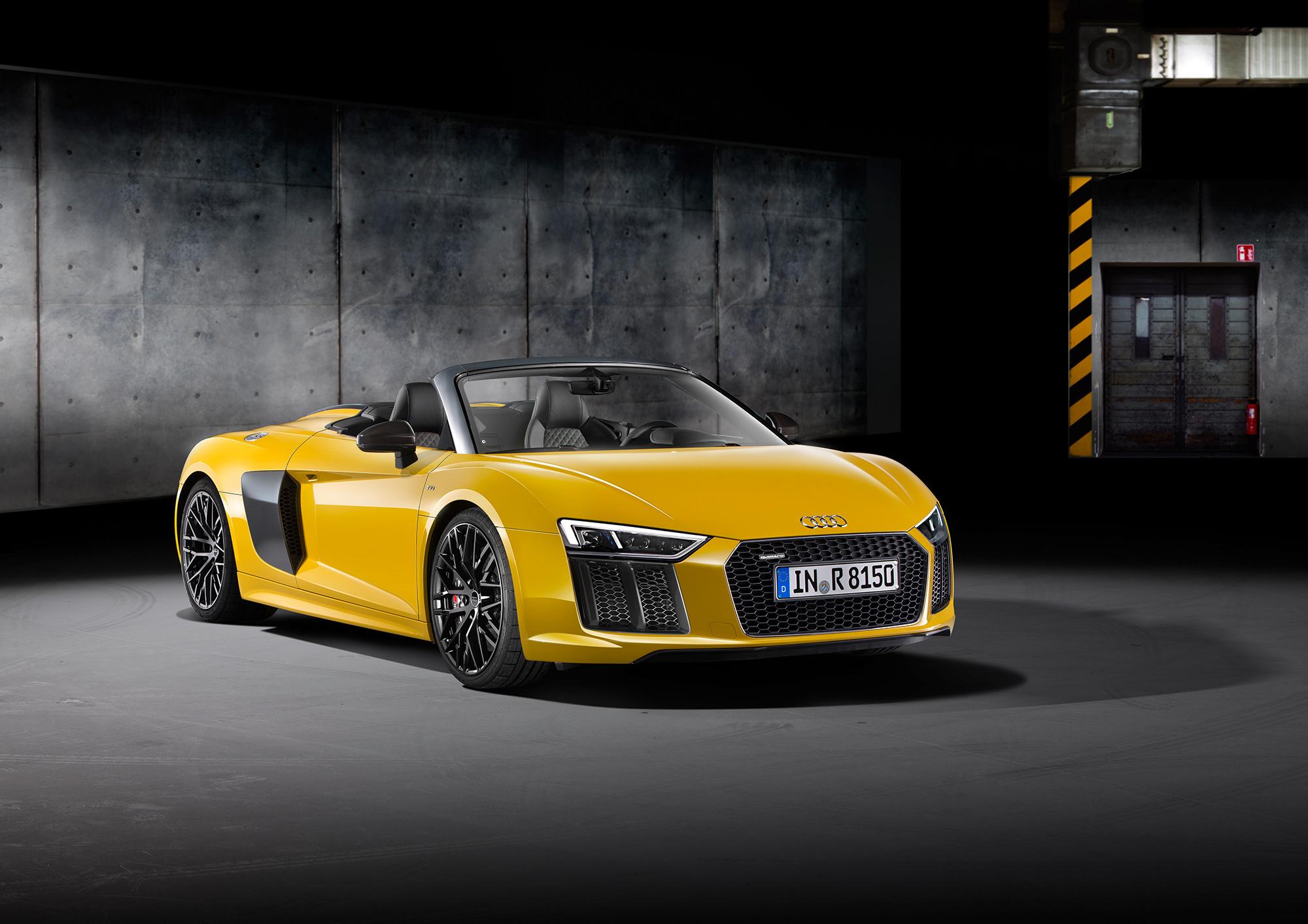 Audi R8 Spyder Pictures