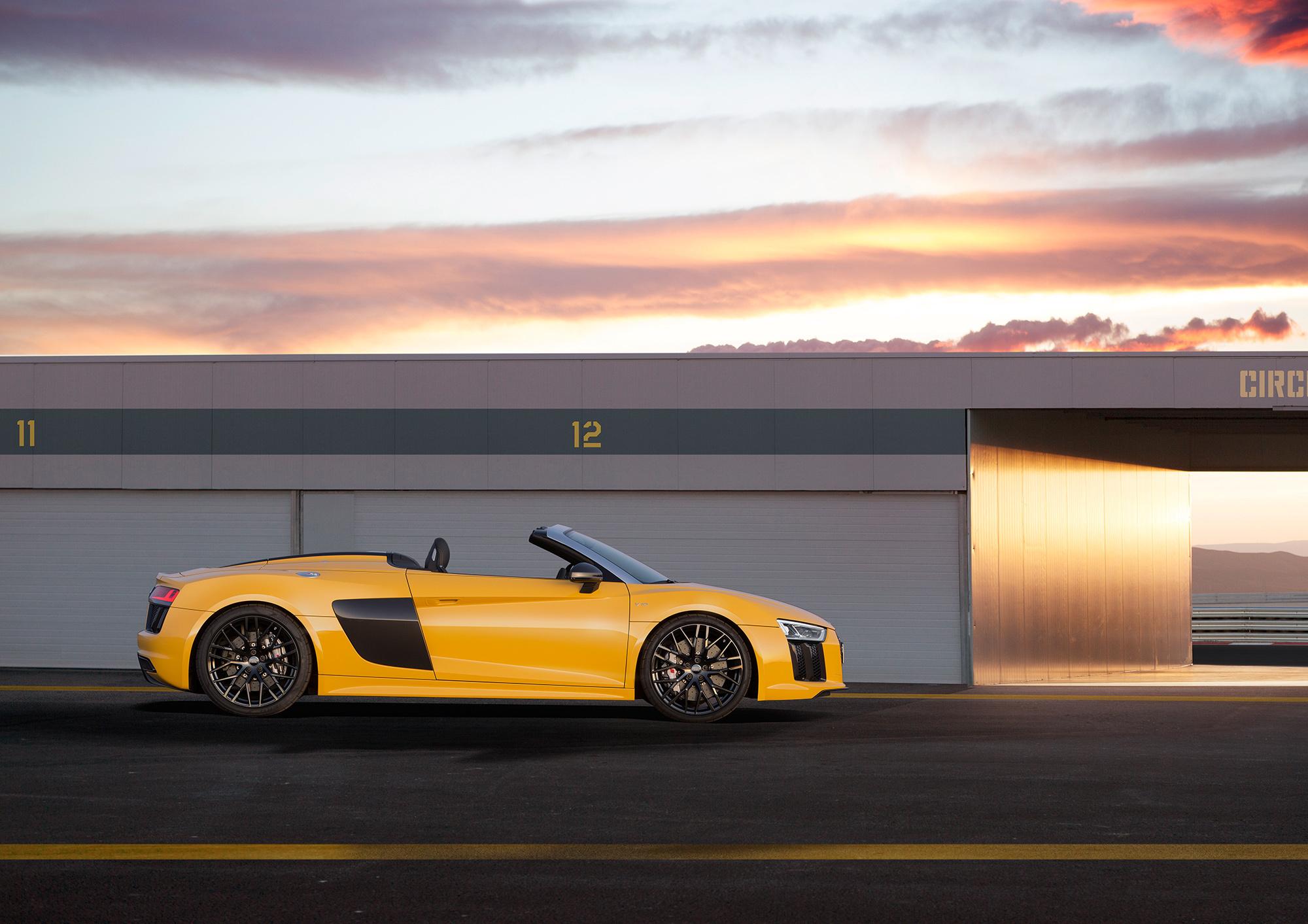 Audi R8 Spyder Widescreen