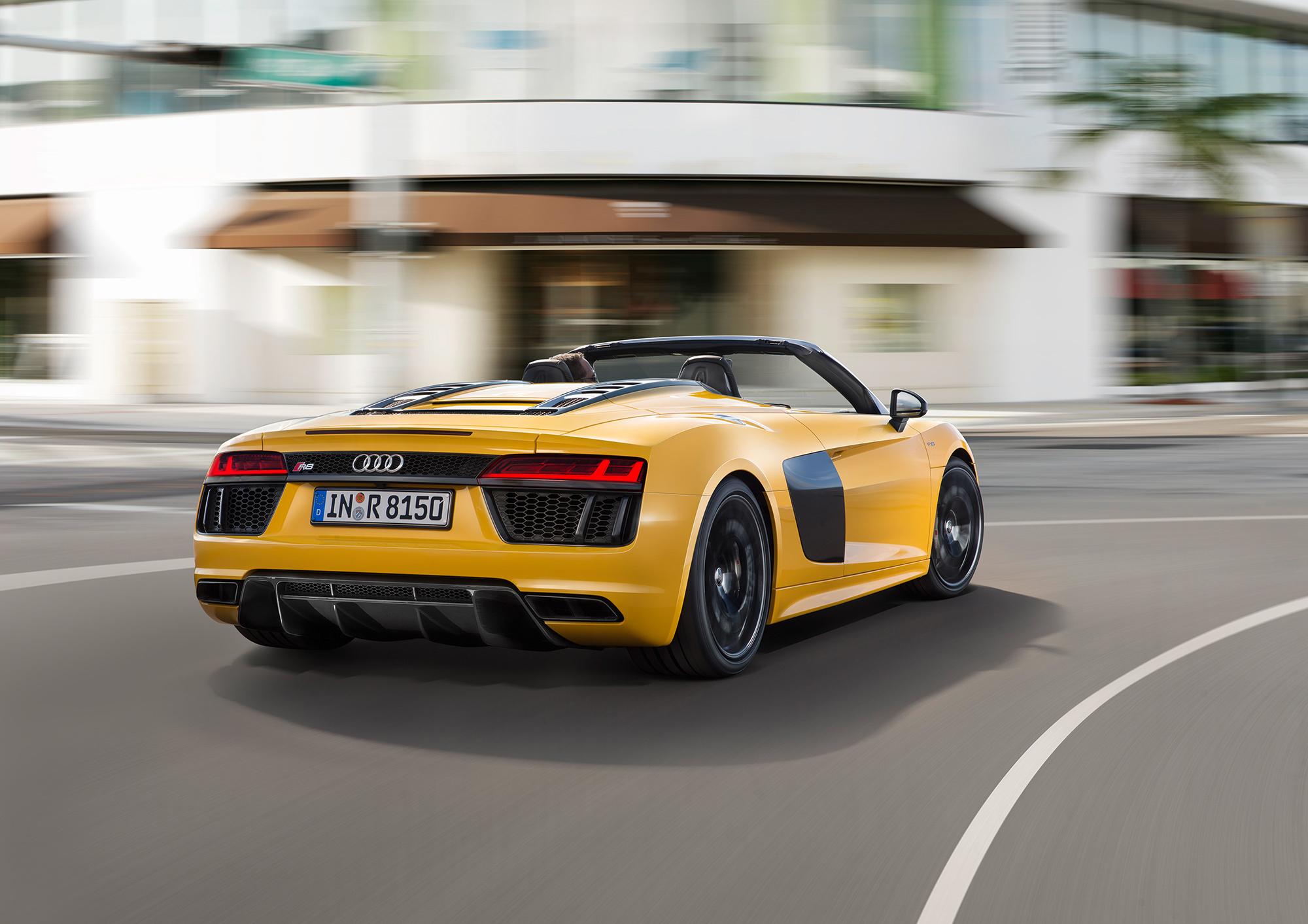 Audi R8 Spyder For Desktop