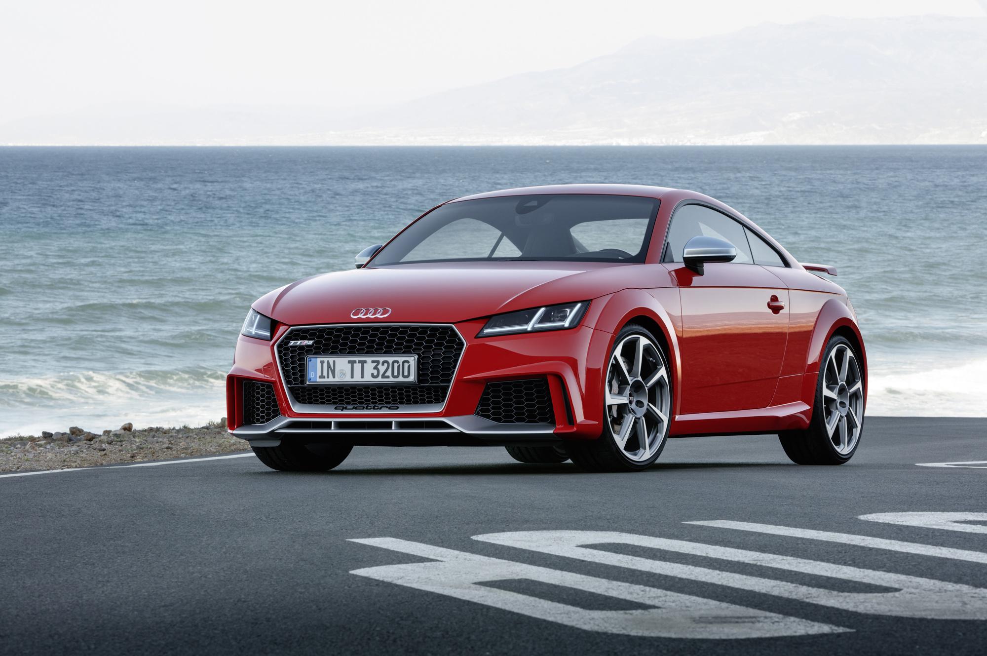 Audi TT RS For Desktop