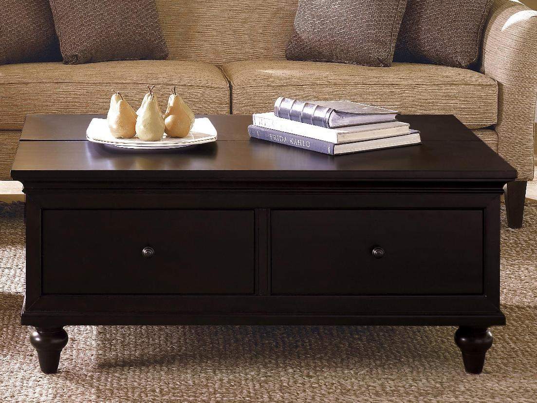 Beautiful Dark Wood Coffee Table