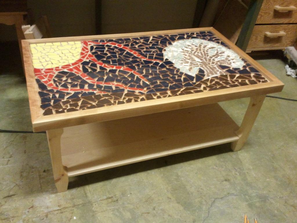 Beautiful Mosaic Coffee Table