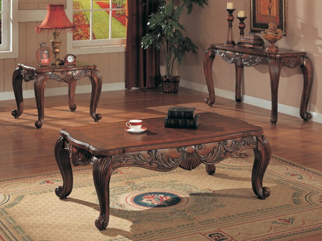 Beautiful Traditional Coffee Table