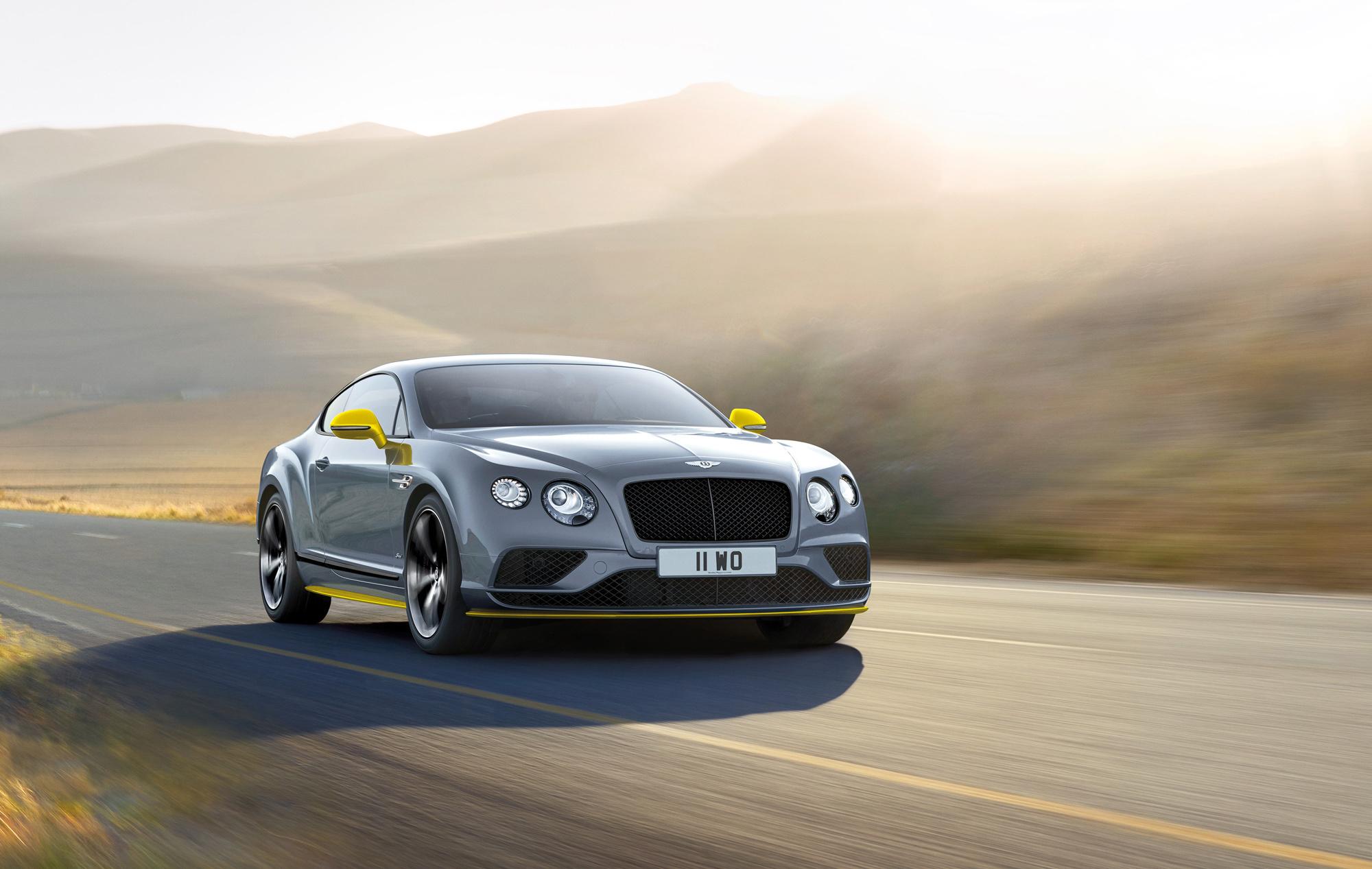 Bentley Continental GT Speed Images