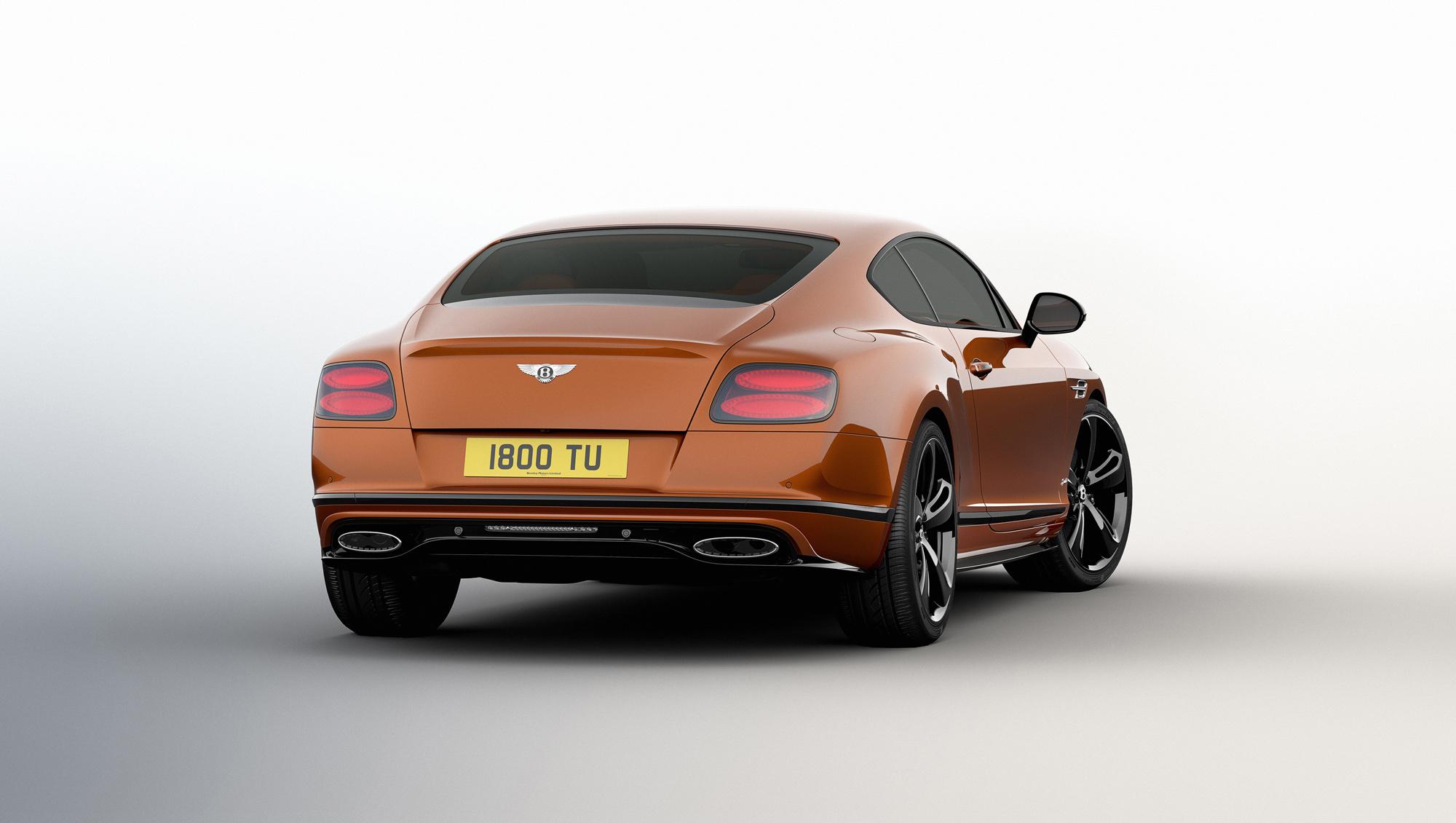 Bentley Continental GT Speed Photos