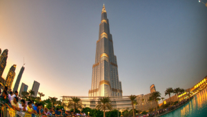 Burj Khalifa HD Background
