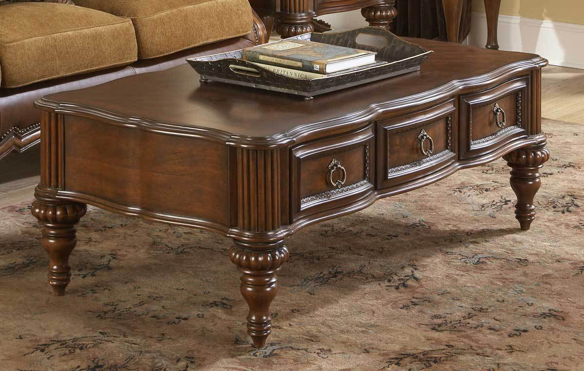 Classic Coffee Table With Drawers