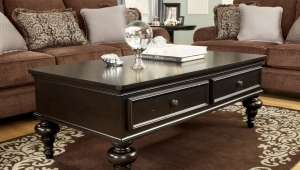 Classic Dark Wood Coffee Table