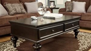 Classic Dark Wood Coffee Table