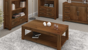 Classic Walnut Coffee Table