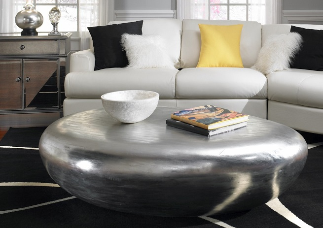 Coffee Table Formed As Stone