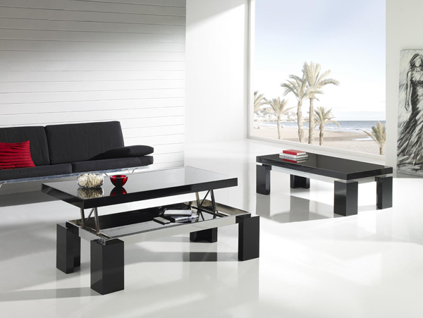 Coffee Table Transformed Height