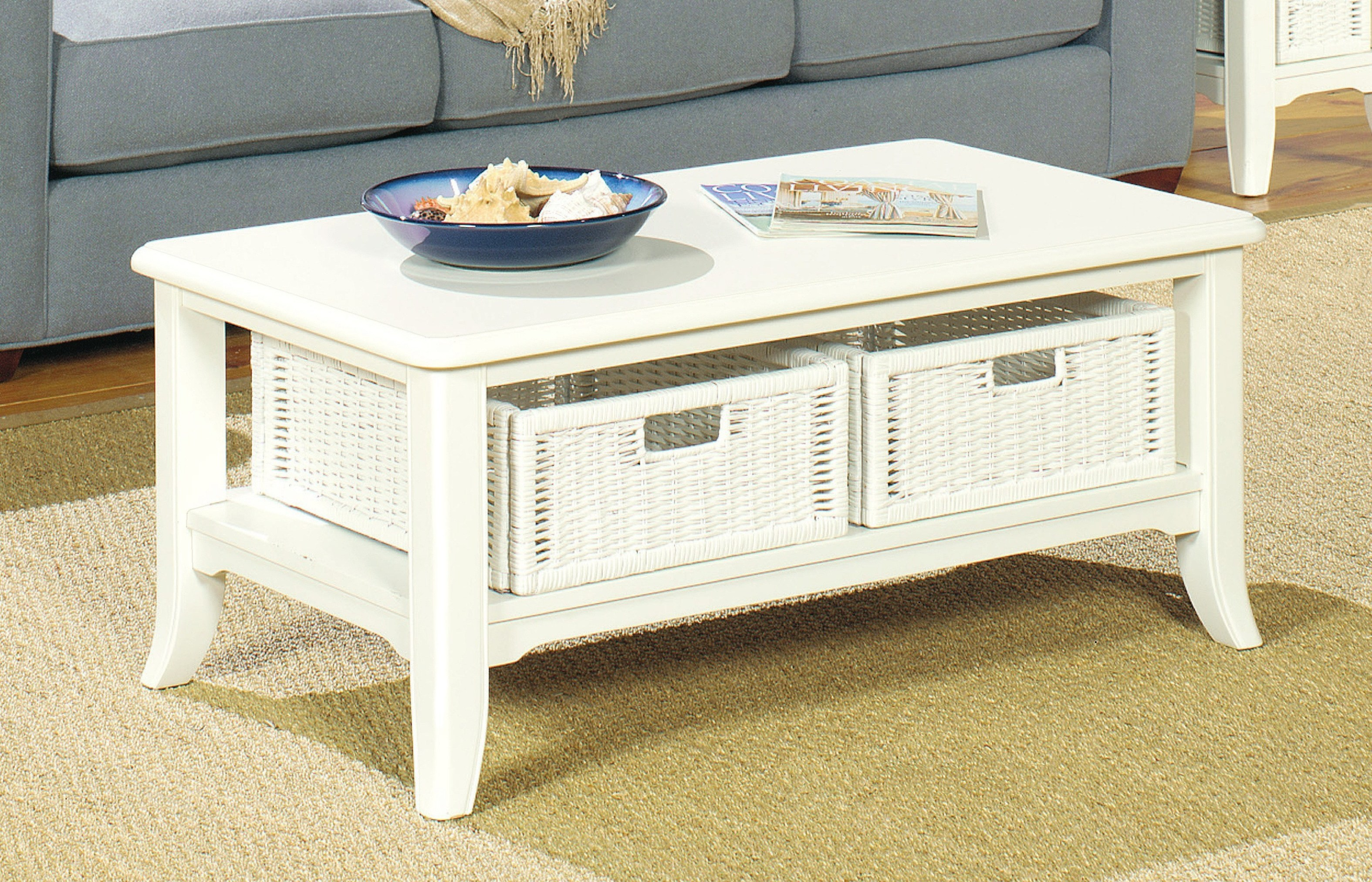 Coffee Table With Removable Drawers