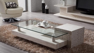 Coffee Table With Marble Base