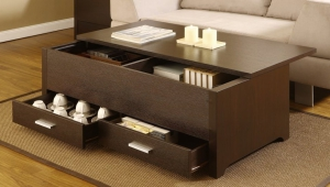 Coffee Table With Storage For Small Spaces