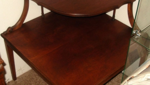Coner Redwood Coffee Table