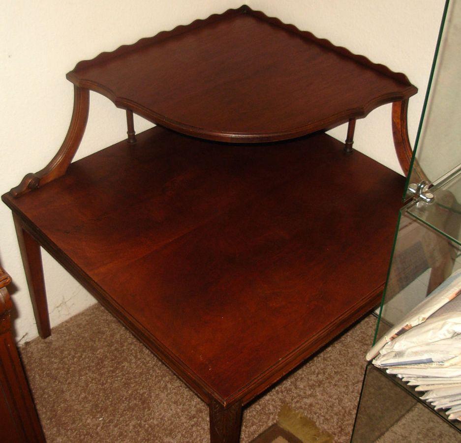 Coner Redwood Coffee Table