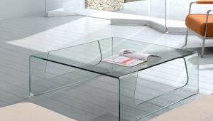 Contemporary Glass Coffee Table Decor