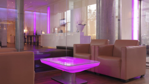 Contemporary Led Coffee Table