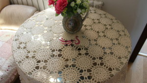 Cotton Tablecloth Coffee Table Cover