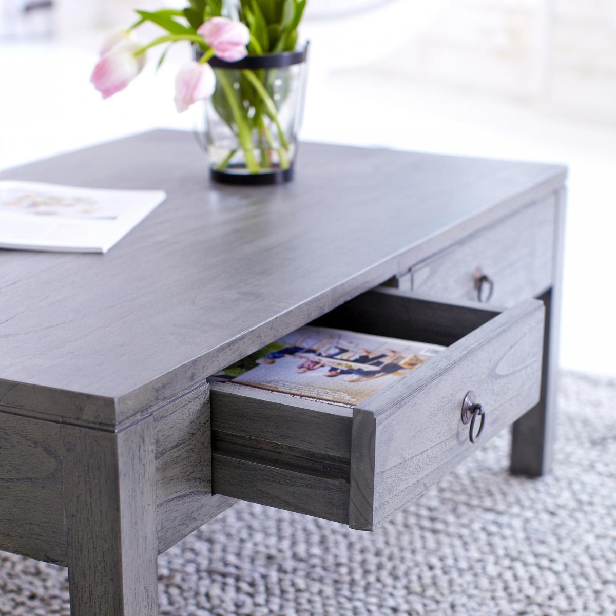 Dark Grey Coffee Table